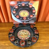 Drinking Roulette Set w/ 16 Shot Glasses - COMPLETE Drinking Game