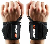 NEW Wrist Wraps Support Brace for Men & Women. Increase Strength & Performance