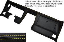 Yellow Stitch DASH dashboard cuoio pelle copertura adatta Corvette C3 1977-1982