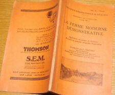 exposition de liege 1930 LA FERME MODERNE agriculture F.GRAFTIAU melotte FORDSON