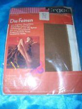 RAR Vintage Feinstrümpfe Strapsstrümpfe Gr. 9,5 palma Ergee die Feinen Bas OVP