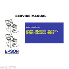 EPSON PictureMate PM260 270 290 English Service Manual- PDF(Send by Email)