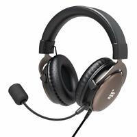Tronsmart Stereo Sound Headset On-Ear Ohrhörer mit Mikrofon in Schwarz / Braun