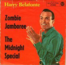 "7"" Harry Belafonte – Zombie Jamboree // Germany 1964"