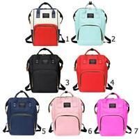Women Mummy Maternity Travel Backpacks Big Capacity Baby Nappy Nursing Handbags