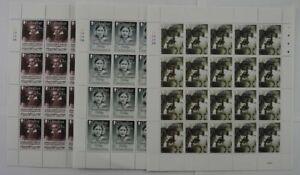 2020 Gibraltar; 60 Serien Franklin, postfrisch/MNH, MiNr. 1956/58, ME 1110,-