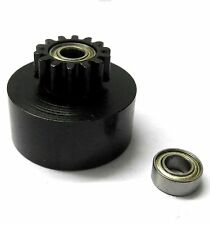 1/10 1/8 Scale .18 + Engine Clutch Bell Housing 14 Tooth Teeth 14T + 2 Bearings