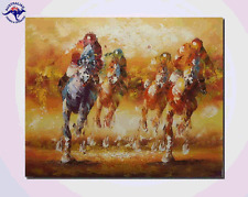 CANVAS WALL ART ABSTRACT OIL PAINTING MODERN DECOR HAND PAINTED (NOT FRAMED)