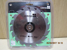 190mm x 18T x 30 20 16mm bore size TCT quality circular saw blade NEW