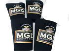 🔥 Lot Of 4 • MGD Miller Light Genuine Draft Koozie For Beer Pint Glass