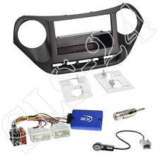 Hyundai i10 ab2013 Doppel-DIN Radioblende+FACH+Alpine Lenkrad Interface+Antenne