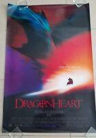 Dragonheart movie poster  -  Sean Connery, Dennis Quaid (1996)