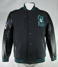 Seattle Mariners MLB G-III Men's Button-Down Bomber