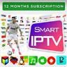 IP T V 12 months Subscription  Smarters Pro(✔️M3U✔️SMART T V✔️ANDROID✔️MAG)