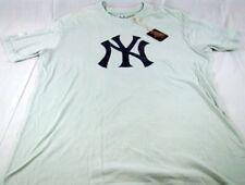 Mens Red Jacket Baseball MLB NY New York Yankees T Shirt XL