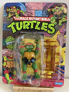 Teenage Mutant Ninja Turtles RAPHAEL 1988 Playmates Vintage Toy. Unpunched.
