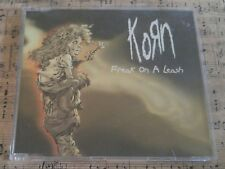 Korn - Freak On A Leash 5 Track w/ 4 RARE MIXES Europe CD 1999 Pre-Owned Ex Cond