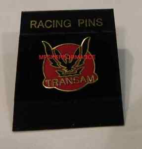 RED BLACK AND GOLD TRANS AM HAT PIN OFFICIALLY LICENSED GM PRODUCT