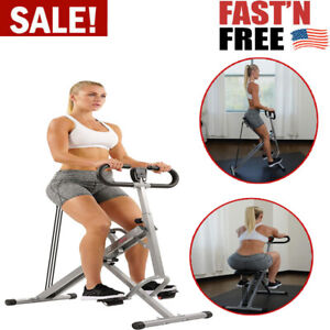 Squat Exercise & Glutes Workout Ride Training With Monitor For Home Fitness Gym