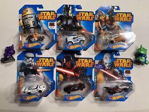 Hot Wheels Star Wars Chopper Clone Trooper Skywalker Stormtrooper Vader Inquisto