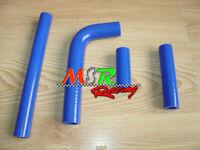 blue Silicone Radiator Hose for YAMAHA WR400F WR426F YZ400F YZ426F 1998-2002