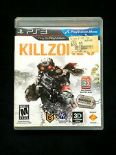 Killzone 3 Sony Playstation 3 Video Game 3D Compatible
