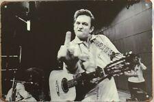 JOHNNY CASH Rustic Look Vintage Tin Metal Sign Man Cave, Shed-Garage & Bar Sign