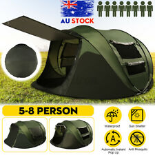 5-8 Person Waterproof Tent Automatic Instant Open Shade Camping Family Hiking
