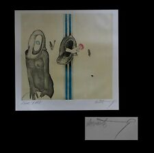 [CURIOSA - EROTISME – SURREALISME] Gérard LECOMTE-RARD - Lithographie.