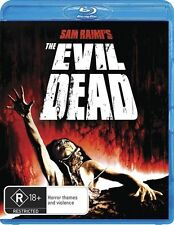 *New & Sealed* Sam Raimis The Evil Dead (Blu Ray) 1981 Classic R18+ Horror Movie