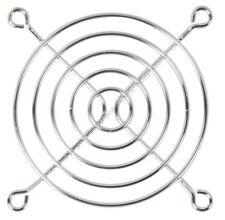 "80mm/3""inch/8cm Metal Wire Box/Case Fan Grill/Finger Guard/Cover{SILVER/CHROME"