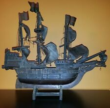 19th Century Antique MAYFLOWER Wooden Ship Model