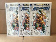 Aquaman #0 New 52 3 Copies