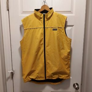 Mens Rono Innovation Windliner Cycling Weather Vest Size XL
