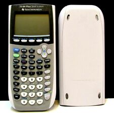 Texas Instruments TI-84 Plus Silver Edition - No Rear Battery Panel- WORKS GREAT