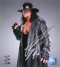 WWE UNDERTAKER HAND SIGNED AUTOGRAPHED PHOTOFILE PHOTO WITH EXACT PROOF 11