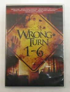 WRONG TURN 1-6 DVD Movie Collection 1 2 3 4 5 6