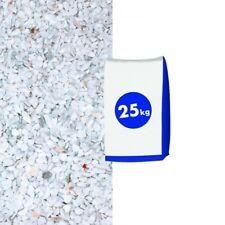 (0,43€/1kg) Marmorsplitt Carrara 5-8 mm 25 kg Sack weiss Splitt Kies Marmorstein