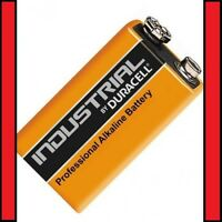 3 x Duracell 9V PP3 Industrial Procell Batteries, Smoke Alarm LR22 BLOC MN1604