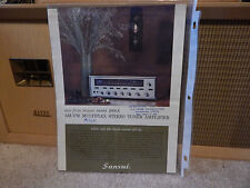 Vintage Sansui 1000A Advertising from Japan