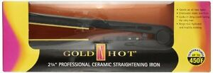 NEW Gold N Hot GH2145 2 1 4 Professional Ceramic Flat Iron FREE SHIPPING