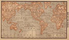 Antique World Maps & Atlases