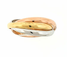 Cartier 18k Trinity Rolling Ring SIze 4.75 49 MSRP $1,140