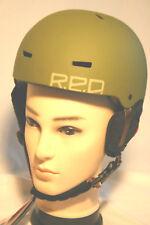 RED Trace 0.5 Kinder Snowboardhelm Skihelm Skaterhelm BMX Croossover Army NEU Gr
