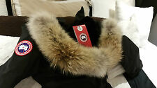 "BRAND NEW ""RED LABEL"" EDITION BLACK CANADA GOOSE KENSINGTON ""XXL"" PARKA JACKET"