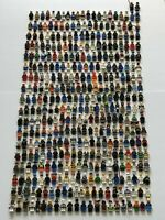 Genuine Lego 10x Random Minifigures Bundle Job Lot