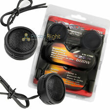 600W Watt Super High Frequency Mini Car Dome Tweeters With Built-In Crossovers