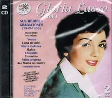 Gloria Lasso Sus Mejores Canciones  1949-1959 VOL 1 BRAND NEW SEALED 2 CDS SET