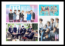 BTS Photo Poster Collage KPOP Jungkook Suga J-Hope V Jin Jimin RM Bangtan Boys