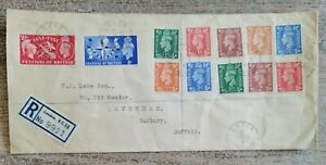 Festival of Britain 1951 Cover 4 May 1951, and Cannon St BOEC Cancellations